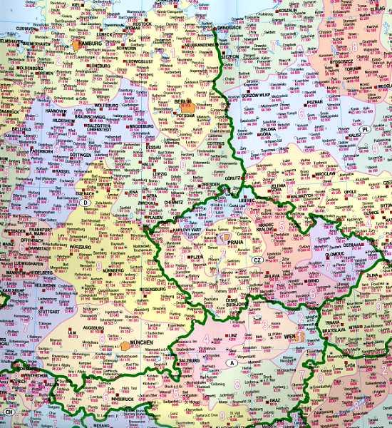 mapa kodowa