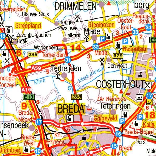 czytelna i dokładna mapa samochodowa