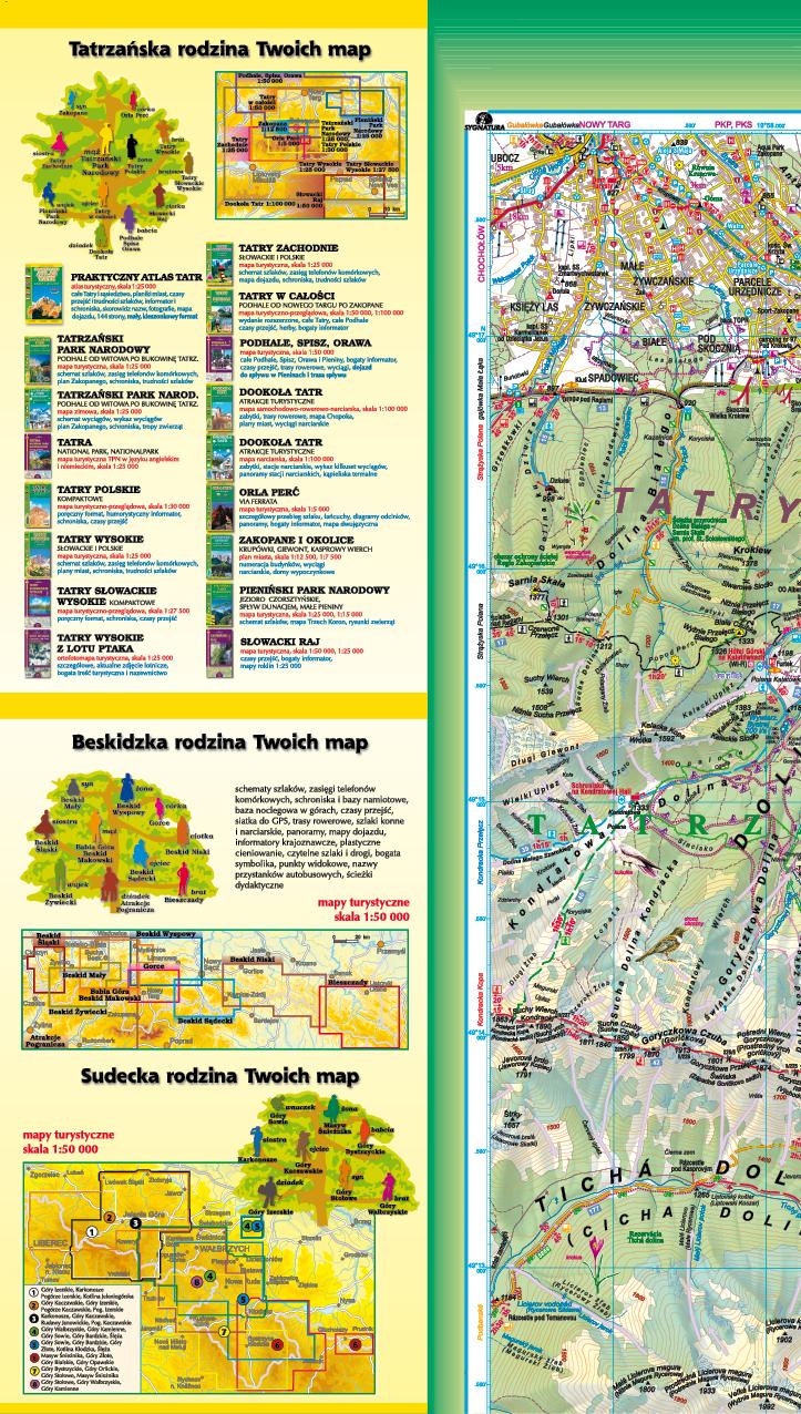 mapy górskie