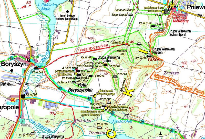 MRU - fragment mapy